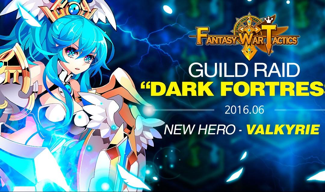 Un nuevo Héroe y una nueva Raid llegan a Fantasy War Tactics