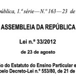 lei 33-2012