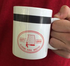 Gray Stripe Coffee Mug
