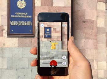 pokemon go armenia government yerevan