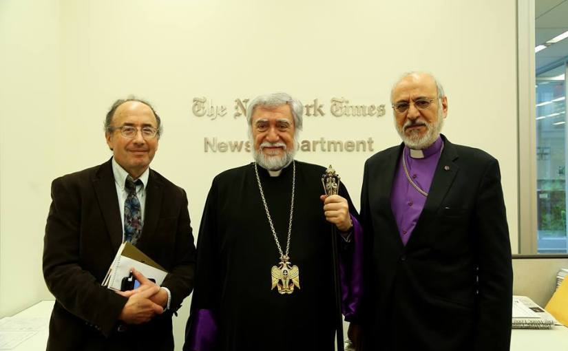 Armenian Church Leader Speaks on Suit to Reclaim Seized Property