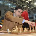 Vladimir Kramnik leads the Russian team.