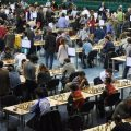 Around 1300 chess players from 124 countries are participating in the Olympiad.