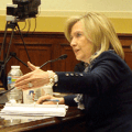 Secretary Clinton offers testimony before the Foreign Affairs panel.