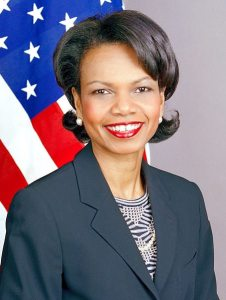 Condoleezza Rice 226x300 Condi Rice Brags about Killing Genocide Resolution