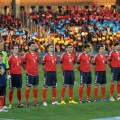 The Armenian national soccer team