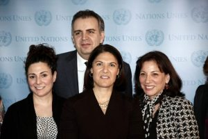 065 300x200 Panel at UN Explores Women's Empowerment and Sustainability in Armenia
