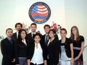 The 2009 ANCA Leo Sarkisian Interns doing us proud.