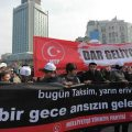 In Turkey, a political campaign to generate public consensus against the bill was successfully initiated and reached its peak with a demonstration on Feb. 26, organized jointly by Turkey and Azerbaijan, in the center of Istanbul—and what was nothing other than a rehearsal of the Sept. 6–7, 1955 events.
