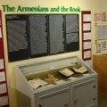 View of 'Armenians and the Book' exhibit at ALMA