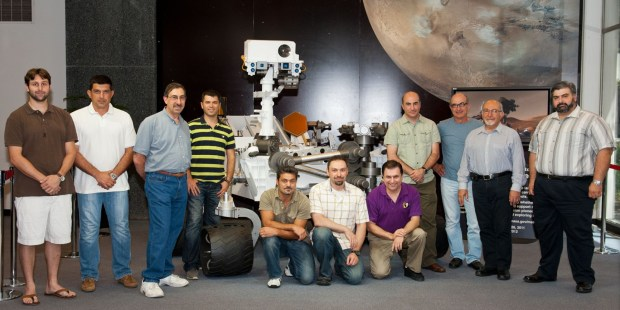 MSL Armenians 1 1024x512 To Infinity and Beyond: Armenians in the Mars Rover Curiosity Project