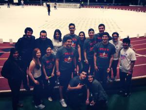 Nearly two-dozen Armenian students from five universities participated with their own team