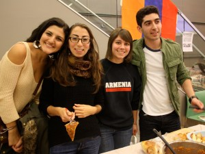 After hours of preparation, the Armenian Club was ready to join the 10 other culture clubs at the Tufts Culinary Society's 2nd Annual Culture Crawl.