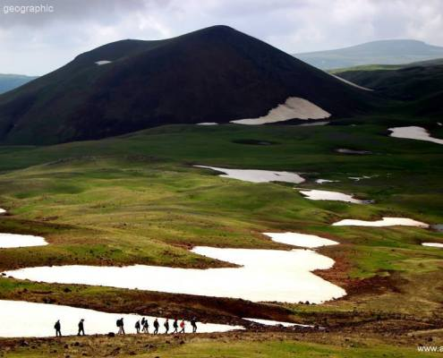 Hiking in Armenia - Azhdahak mountain