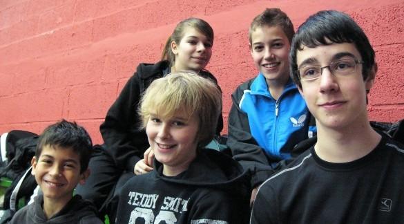 Nos jeunes au Bernard Jeu 2011