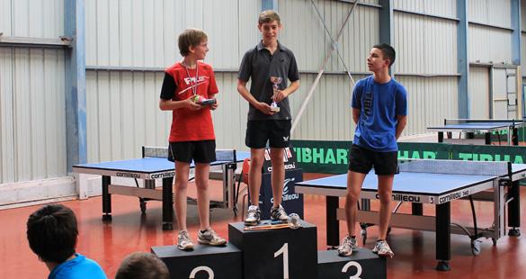 Thibaut, vainqueur du tournoi interne jeunes - 16/06/2012