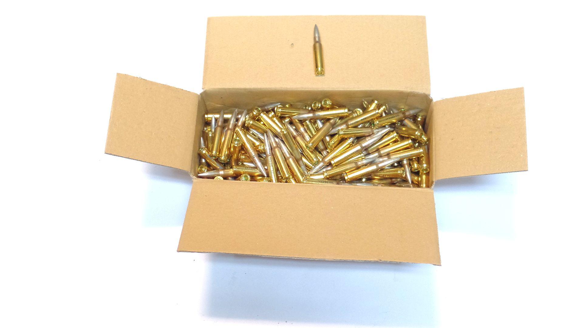 Munitions x250 calibre .308W