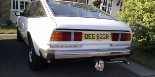 Rover SD1 : A handsome beast (bar none)