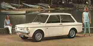 The cars : Hillman Imp
