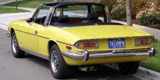 Triumph Stag : Bought in the USA