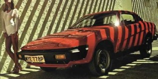 The cars : Triumph TR7/TR8