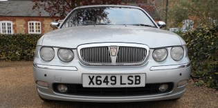 Our Cars : Meet the new Rover 75