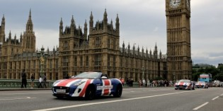 News : Jaguar F-Types fly the flag for Britain