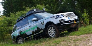 News : Wraps come off the hybrid Range Rovers
