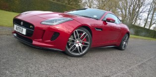 First Drive : Jaguar F-Type R Coupe