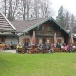 Hütte auf der Doaglalm