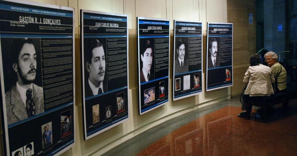 Muestra realizada en el Banco de la Nación Argentina