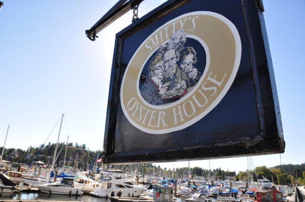 Smitty's Oyster House, Sunshine Coast, BC
