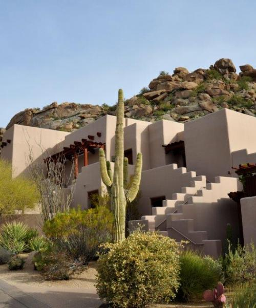 Adobe casitas at Four Seasons Resort Scottsdale Troon North