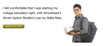 Student Loans - Arrowhead Credit Union