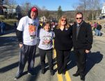 Asst. Superintendent of Schools Steve Meyer joined Senator Anne Gobi, State Representative Susannah Whipps Lee, and Athol Selectman William J. Caldwell at the River Rat Parade.