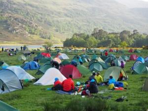 Tentcamp Highlander MM 2016. photo: Nick Brown