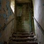 verfallendes Treppenhaus
