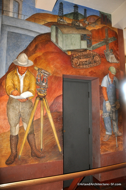 Ray boynton public art and architecture from around the for Coit tower mural artists