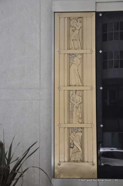 Lee Oskar Lawrie Art Deco Panels