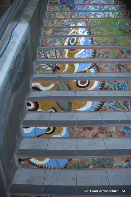 16th Avenue Tile Stairs