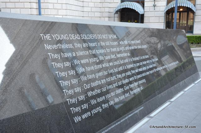 war memorial sf
