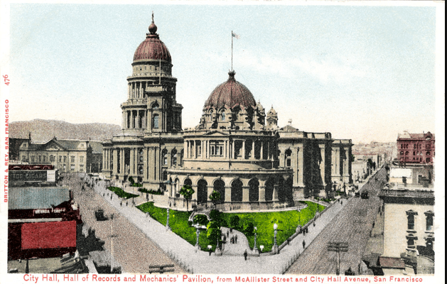San Francisco's First City Hall