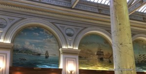 Murals of the Merchant Exchange Building