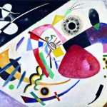 Vasily Kandinsky, red spot ii