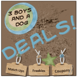 3Boys&aDog DEALS!