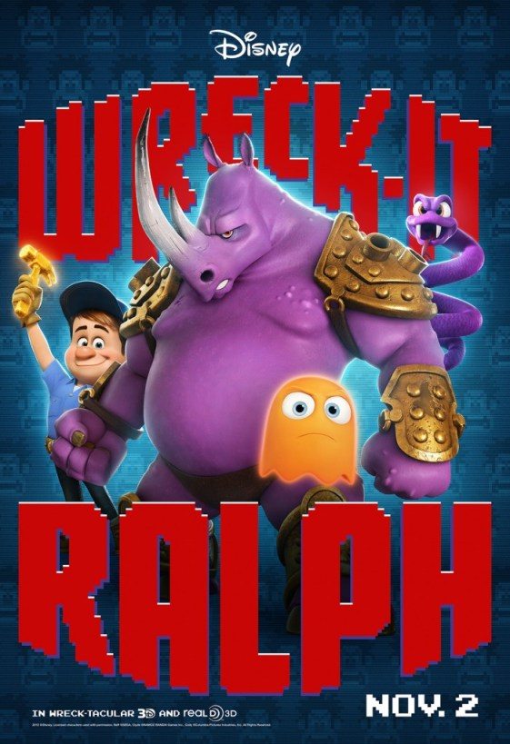 Neff Wreck It Ralph Movie Poster