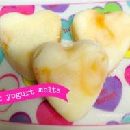 Quick Snack : Valentine Heart Yogurt Melts