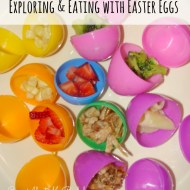 Easter Egg Lunch | Exploring and Eating with Easter Eggs