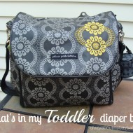 What's In My Toddler Diaper Bag?