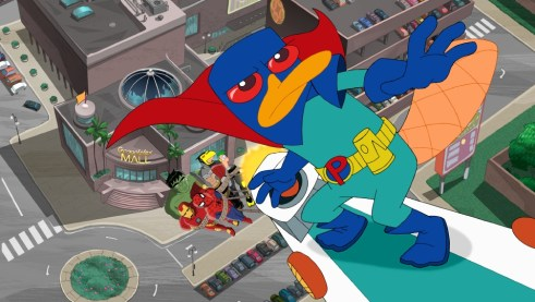 Perry the Platypus on Mission Marvel